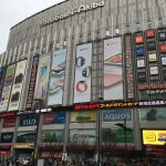 Akihabara, changing area of electrical products in Tokyo