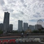 Yokohama port, where old and new coexist