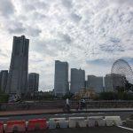 Yokohama port, where old and new coexist
